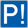 Parkplätze sind knapp.