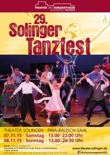 Plakat Solinger Tanzfest