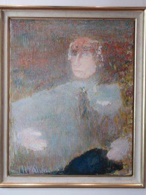 Georg Meistermanns Porträt von Walter Scheel 1976/77 (15.03.2017 18:30)