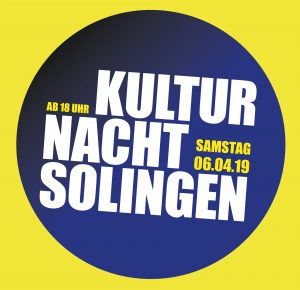 Kultur Nacht Solingen (06.04.2019 18:00)