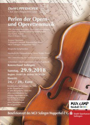 Perlen der Opern- und Operettenmusik  (29.09.2018 19:00)