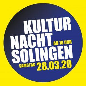 Kultur Nacht Solingen – GEHT ONLINE (28.03.2020 18:00)