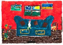 Kindermalfest _ Zeichnung Lasse Capelle