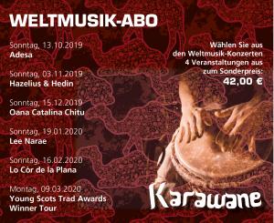 Weltmusik-Abo