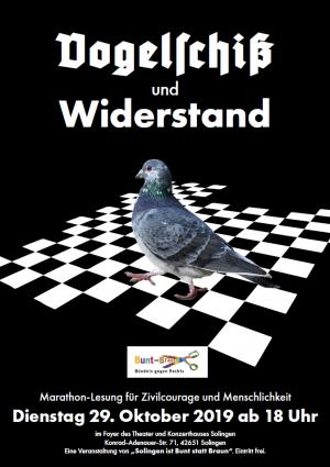 Vogelschiß und Widerstand (29.10.2019 18:00)