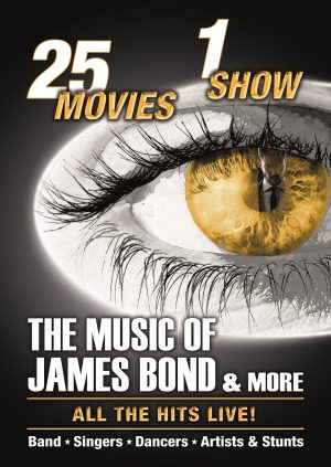 The Music of James Bond – VERSCHOBEN AUF 06.03.2022 – (27.01.2021 19:30)