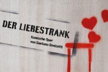 Der Liebestrank Plakatmotiv